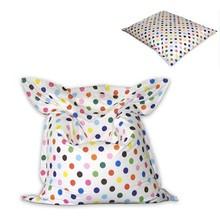 classic waterproof dot printing 420D Nylon PVC bean bag chair cover, cheap bean bag sofa