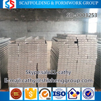 Tianjin SS Group steel structure aluminium scaffolding metal plank types of scaffolding