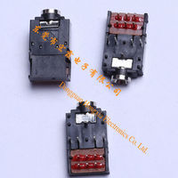 Wholesale Electronic Inverter3.5Ear plug metal with double electron switch