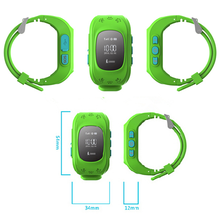 2015 GPS Smartwatch with Remote monitoring&GPS Position Tracking & Bluetooth SOS Call Kid GPS watch for Iphone and Android Phone