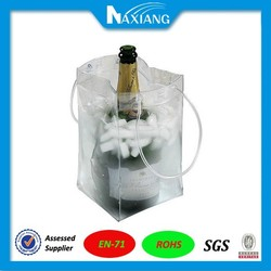 Hot selling plastic pvc cooler bag for wine