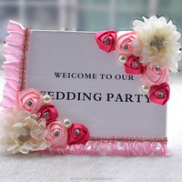 New Arrival Romantic Bride & Groom Name Place Cards Table Name Cards Seating Cards Wedding Party Decoration