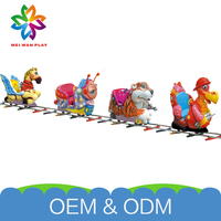High Quality Playground Electric Equipment 2015 New Arrival Outdoor Kids Electric Train Games
