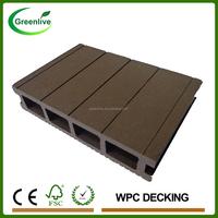 Wpc green decking materials