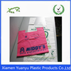 Eco friendly China logo customized t shirt cheap plastic bags