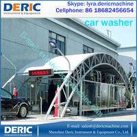 Tunnel Automatic Car Wash Machine With Brushes