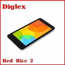 wholesale mobile phone 4.7inch Xiaomi Redmi 2 Red Rice 2 Hongmi 2 1G Ram 8G Rom smart mobile phone Andorid4.4 MIUI6