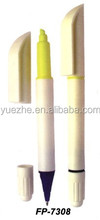 Promotional Double sided pen with highlighter