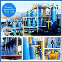 wood chips city argriculture waste biogas electric small biomass gasifier for family use