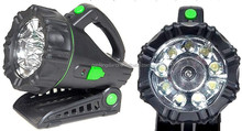 led work light rechargeable torch rechargeable LED COB Work light 1 halogen bulb 9 super bright LED portable torch spot light
