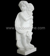 Hunan White Famous Marble Angel Sculptures