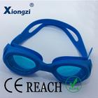Colorido de uma peça completa marca de silicone personalizadas proteger os olhos óculos de natação de segurança