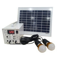 10W Home lighting DC 12V Solar Power System Solar Kits