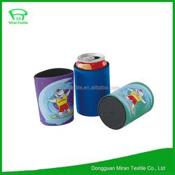 promotional hot sale custom embroidery neoprene cooler /can/beer bottle cooler holder/stubby holder