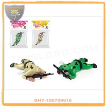 China wind up promotion toys for sale with soldier and EN71
