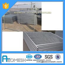Construction Site Most Convenience temporary barrier/removable fence post/corten steel fence