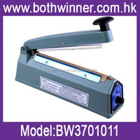 hand held plastic sealer ,H0T110 aluminum body with middle cutter sealing machine , sealer machine