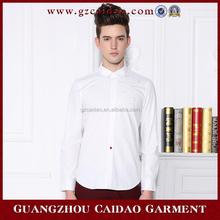 Manga larga de cuello redondo para hombre camisas de lino de algodón
