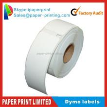 DYMO label 30277 Heat sensitive adhesive sticker Folder labels 14mm*87mm 130 pieces per roll