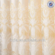 2015 high quality cheap embroidery lace curtain and fabric for window curtain patterns