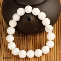 Natural stone white tridacna bracelets for unisex fashion jewelry beads handmade bracelet classic gifts men bracelet