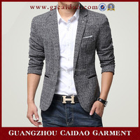 Flax tailored costume men suit in China