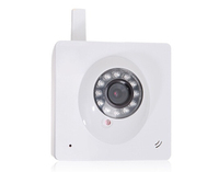 H.264 Wireless IP Webcam with Microphone Speaker (White)