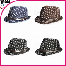New wholesale children's hat Dot design Children's jazz cap hat