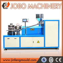Full automatic plastic closure lining machine for making cap liner