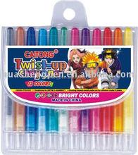 12 pcs twistable crayon