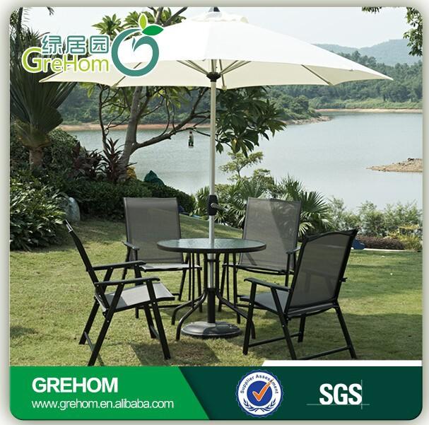 Summer winds patio furniture garden set with umbrella for Summer winds patio furniture