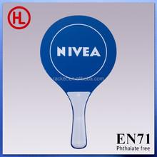 Hot sale NINEA custom cheap promotional Wooden Beach Tennis Racket with beach ball wholesale