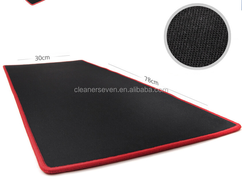 large size mouse pad 780cm laptop non slip mat with stitching edge