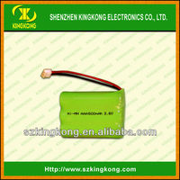 Rechargeable battery packs 4.8v nimh