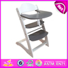 High Quality Antique Wood feed chair toy for kids,wooden Baby Feeding High Chair for Restaurant,wooden toy feed chair W08F008