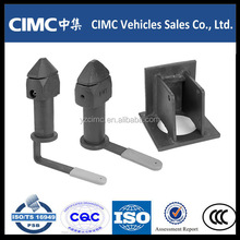 Standard container twist lock for trailers and semi-trailers