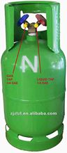 refrigerant R134a CE cylinder double valve