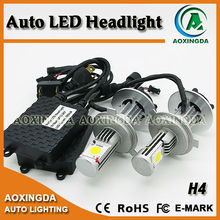 3600LM CREE 50W H4 Hi/Lo LED headlamp