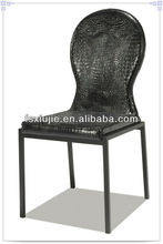 2014 New Dining Room Furniture Chair PU Leather Crocodile Skin Z662