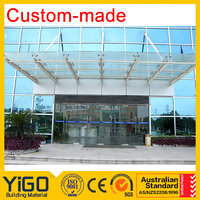 glass porch ,architectural glass with high quality