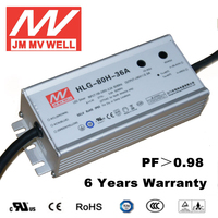 70w led driver 80W waterproof IP65 36v led power supply 48v with UL TUV CB CE RoHS CCC EMC
