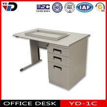 2014 NEW executive wooden and steel office desk with drawer lock