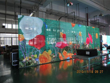 led rental screen p10 indoor mesh/strip/grid/net curtain for portable 2 x 3 meter led wall