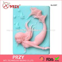 feitas à mão molde de silicone para fabricação de sabão