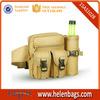 Men Khaki lightweight outdoor travel sport Army Military waist bag