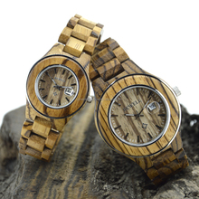 charm watch/ bewell wooden watches 2015 for couple