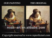 Handmade art paintings by famous artists on canvas