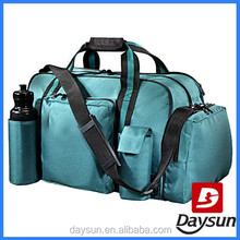 Soft luggage travel bag with multiple pockets shoe compartments