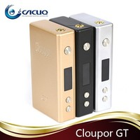 New Arrival! Cloupor GT 80W Best Selling Products E Cig Mods Dual 18650 Battery 80W Cloupor GT
