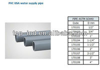 pvc USA Water supply pipe
